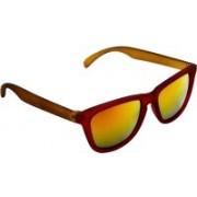 Joe Black Wayfarer Sunglasses(Golden)