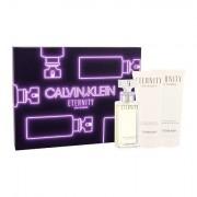 Calvin Klein Eternity confezione regalo eau de parfum 50 ml + lozione corpo 100 ml + doccia gel 100 ml donna