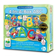 The Learning Journey My First Puzzle Sets 4-In-A-Box Puzzles, ABC