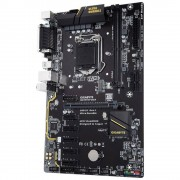 Placa Mae Gigabyte H110 ATX (1151) DDR4 - GA-H110-D3A 1.0M/B- 7A GER/6A GER (mineracao)
