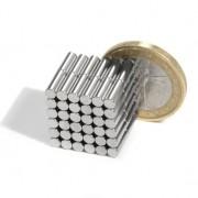 Magnet neodim cilindru, diametru 3 mm, putere 400 g