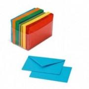 Favini Biglietti di auguri Arcobaleno - Confezione da 100 cartoncini + 100 buste colori