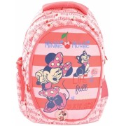 Ghiozdan clasele 1/4 roz-cherry Minnie Pigna