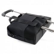 Tucano Modo Bag - чанта с дръжки и/или презрамка за MacBook Pro 15, Retina 15 и преносими компютри до 15 инча (черен)