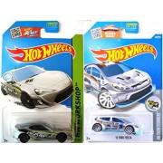 Scion Hot Wheels + Ford Fiesta Exclusive Zamac Edition Evasive Silver Scion Fr S Model Set In Protective Cases