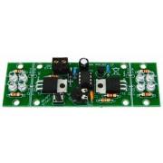 Velleman MK180 2-kanaals LED-stroboscoop Mini Kits bouwpakket