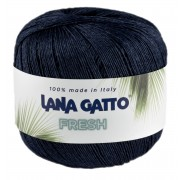 Fir 100% in Lana Gatto Fashion Collection - Fresh - 50g, 8167, albastru navy