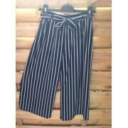 Pantalon Corsaire Noir Ray