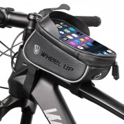 """WHEELUP Bicycle Cycling Bag Waterproof Saddle Bag Touch Screen 6.2"""" Phone Case Pouch"""