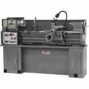 JET Geared Head Metal Lathe with Stand - 13 Inch x 40 Inch, Model GHB-1340