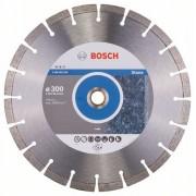 Диск диамантен за рязане Expert for Stone, 300 x 20,00+25,40 x 2,8 x 12 mm, 1 бр./оп., 2608602593, BOSCH