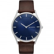 Karóra SKAGEN - Holst SKW6237 Dark Brown/Silver/Steel