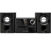 MINI SYSTEM PHILIPS BLACKRETRÔ USB CD, CD-R/RW, CD MP3