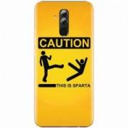 Husa silicon pentru Huawei Mate 20 Lite This Is Sparta Funny Illustration