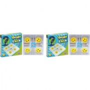 Virgo Toys Brain Lock - (Pack of 2)