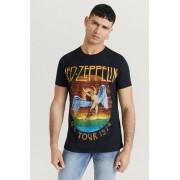 Rock Off T-Shirt Led Zeppelin Tee Svart