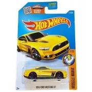 Hot Wheels 2016 B Case 2015 Ford Mustang Gt #121