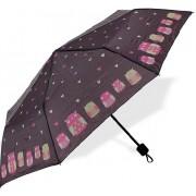 Albi Pliant cu umbrela bufnițe și cu inimi