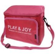Italish New Car Seat Back Storage Bag Travel Picnic Bag Cooler Food Drink Storage Bag Hand Holder(Pink)