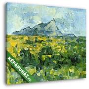 Paul Cézanne: A Sainte- Victoire hegy (30x25 cm, Vászonkép )