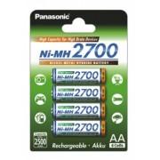 Set 4 Acumulatori AA Panasonic 2700MAh