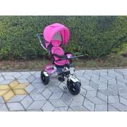 Tricikl Playtime sa rotirajucim sedištem (Model 4081 LUX roze)