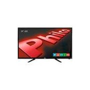 TV LED 39 Philco PH39N91DSGW HD com Conversor Digital e Função Smart 2 HDMI 1 USB