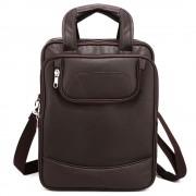 Rucsac laptop barbati convertibil in geanta Brandon, Cafeniu Default Title