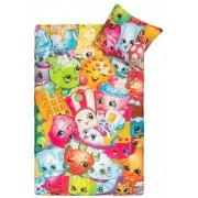 Borg Design Shopkins sängkläder - 150x210 cm - 100% bomull