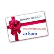 Buono Regalo 20 Euro