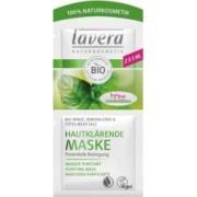 Masca Lavera purificatoare pentru ten gras cu menta argila si sare de mare 10ml
