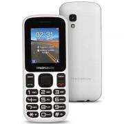 Thomson Mobiltelefon för seniorer Thomson TLINK T12 1,77'''' Bluetooth VGA FM Vit