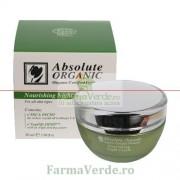 Crema de Noapte Organica Hranitoare cu Sepilift 50 ml Absolute Organic Adams Vision