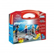 FIRE RESCUE CARRY CASE PLAYMOBIL 5651