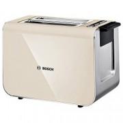 Prajitor de paine Bosch TAT8617 , 860 W, 2 felii, Prajire Quartz
