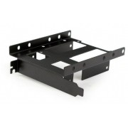 MR-PCISATA2.5-02 Gembird PCI mobile rack for SATA 2.5 x2 + 3.5x1 drives, black