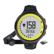 Смарт часовник Suunto M5, Bluetooth, GPS, водоустойчив до 30м, черен-лайм