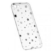 Husa Silicon Transparent Slim Star 143 Apple iPhone 7 8