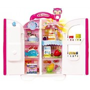 KONGSUNI English Package Kongsuni Series Talking Toy Fridge for Kids, Toy Refrigerator Toy Food Set Real Wate