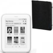 Четец за Електронни Книги e-book reader Barnes and Noble Nook Glowlight (Refurbished)+ Калъф HAMA Piscine за eBook четец, черен