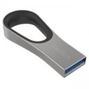 Флаш памет SanDisk Ultra Loop, USB 3.0, 32GB, Сребрист, SD-USB-CZ93-032G-G46