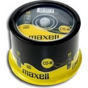 CD-R80 MAXELL cake box wrapped, 700MB, 52x, 50 бр -