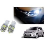 Auto Addict Car T10 5 SMD Headlight LED Bulb for Headlights Parking Light Number Plate Light Indicator Light For Hyundai i20