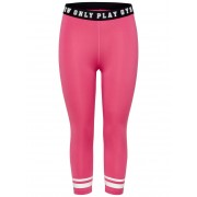 ONLY Detailed Training Tights Kvinna Rosa