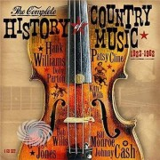Video Delta V/A - Complete History Of Country Music 1923-1962 - CD
