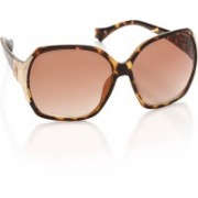 MTV Over-sized Sunglasses(Brown)