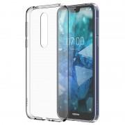 Capa Slim Crystal CC-170 para Nokia 7.1 - Transparente