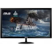 "Monitor Gaming LED ASUS 27"" VX278Q, Full HD (1920 x 1080), VGA, HDMI, DisplayPort, 1 ms GTG, Boxe, Low Blue Light, Flicker Free, TUV certified (Negru)"