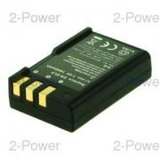 2-Power Digitalkamera Batteri Nikon 7.4v 700mAh (EN-EL9)
