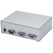 Multiplicator semnal video Manhattan 177207, intrare semnal video: 1xVGA, iesirese semnal video: 2xVGA